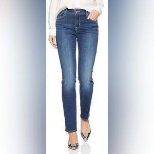 Levi Womens Mid Rise Skinny Medium Wash Jeans sz14